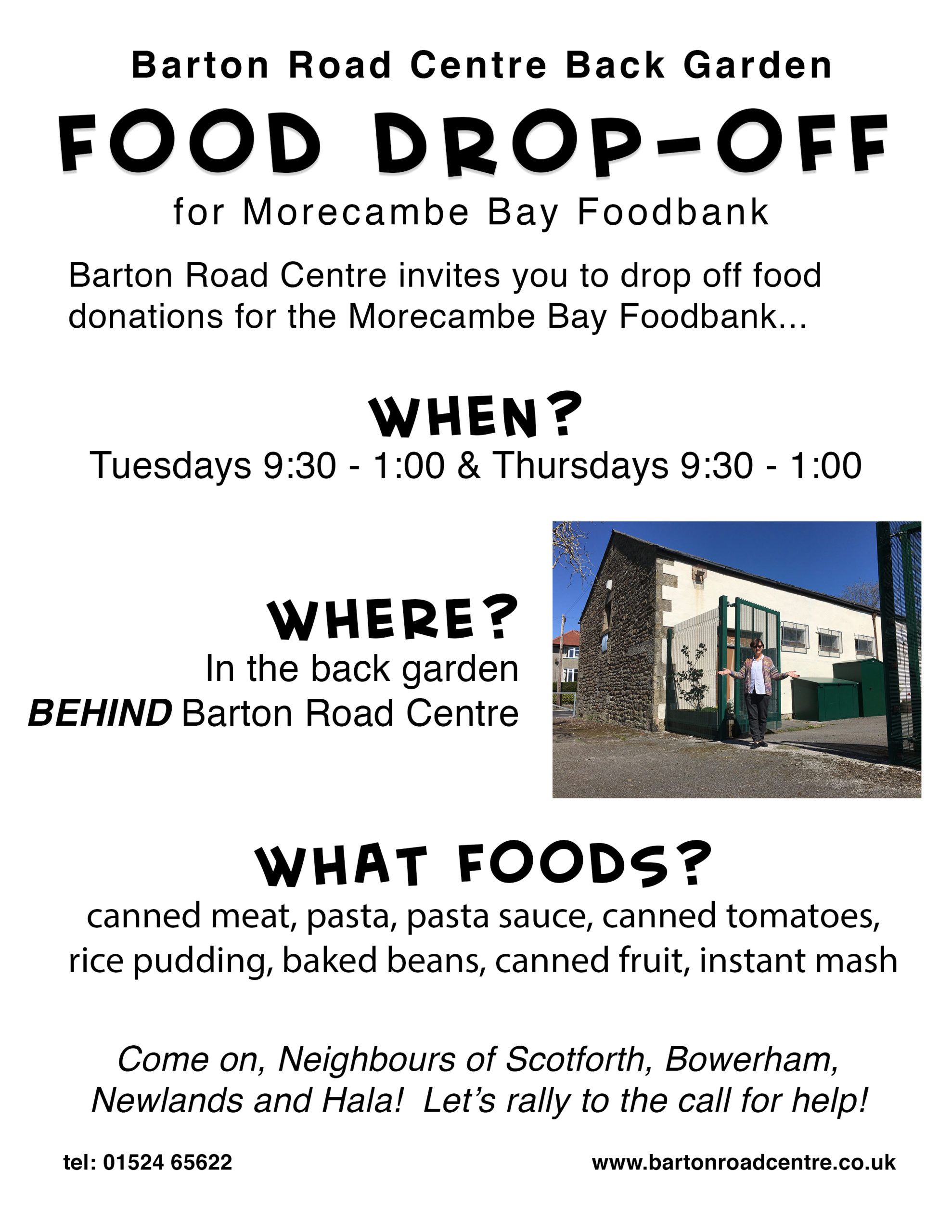 Poster for Foodbank